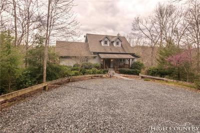 Ashe County Single Family Home For Sale: 368 Hardwood Hill Drive