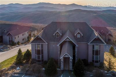 Sugar Mountain Single Family Home Active Under Contract: 743 Craggy Pointe, 24c