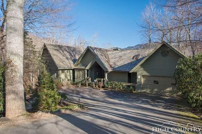 Linville Single Family Home For Sale: 303 Vista Trail