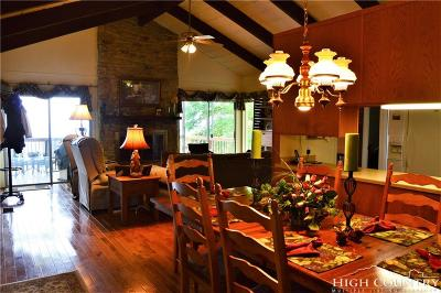 Beech Mountain Single Family Home For Sale: 214 Grassy Gap Loop Road