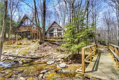 Beech Mountain Single Family Home For Sale: 104 Pond Creek Lane