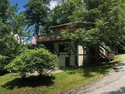 Beech Mountain NC Single Family Home For Sale: $250,000