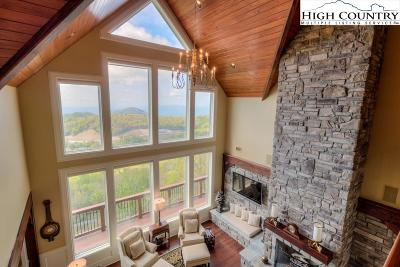 Blowing Rock Single Family Home For Sale: 8383 Gideon Ridge Lane