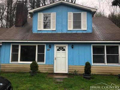 Blowing Rock Single Family Home Under Contract - Show: 181 Logan Lane
