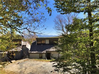 Beech Mountain Single Family Home For Sale: 45 Slopes Road