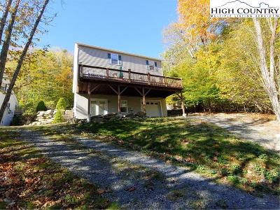 Beech Mountain Single Family Home For Sale: 119 Village Cluster Road