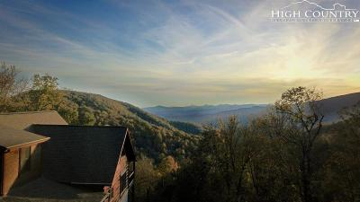Blowing Rock Single Family Home For Sale: 191 Hiking Hills