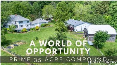 Alexander County, Caldwell County, Watauga County, Avery County, Ashe County Single Family Home For Sale: 1552-1582 Broadstone Road