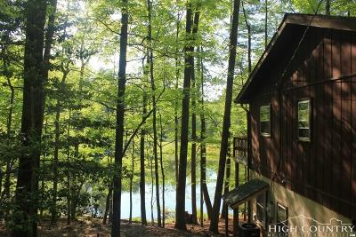 Deep Gap Single Family Home For Sale: 369 Trout Lake Road