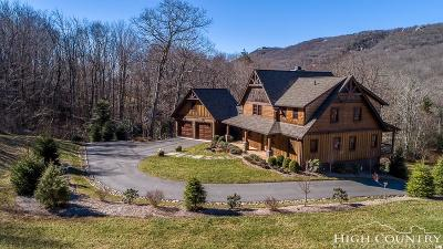 Sugar Mountain Single Family Home For Sale: 170 Trillium Lane