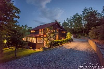 Blowing Rock Single Family Home For Sale: 112 Grassy Knoll Way