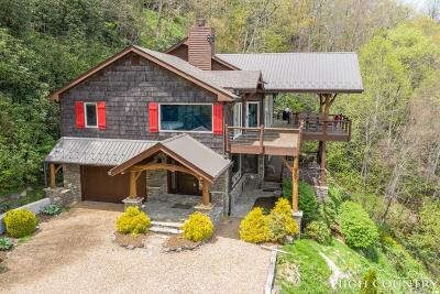 Blowing Rock Single Family Home For Sale: 369 Rhododendron Lane