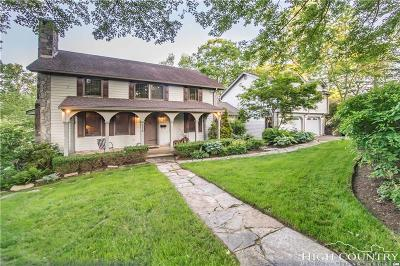 Blowing Rock Single Family Home For Sale: 216 Rankin Road