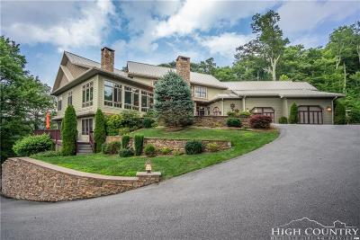 Blowing Rock Single Family Home For Sale: 221 Kestrel Drive
