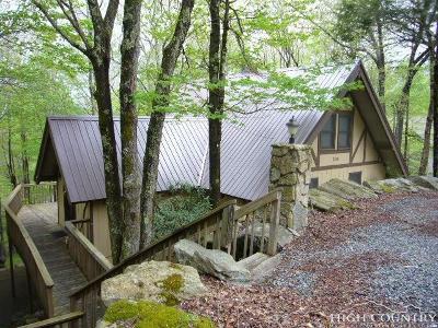 Beech Mountain NC Single Family Home For Sale: $249,000