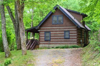 Banner Elk Single Family Home Under Contract - Show: 777 Little Creekside Road