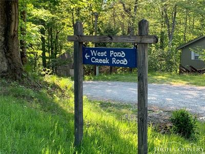 Avery County, Watauga County Residential Lots & Land For Sale: Tbd West Pond Creek Roads