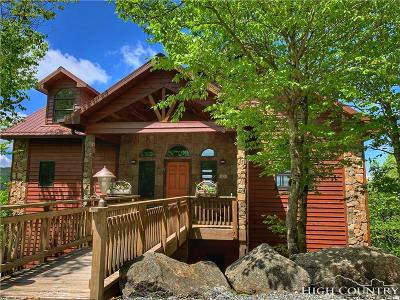 Beech Mountain Single Family Home For Sale: 324 N Pinnacle Ridge Road