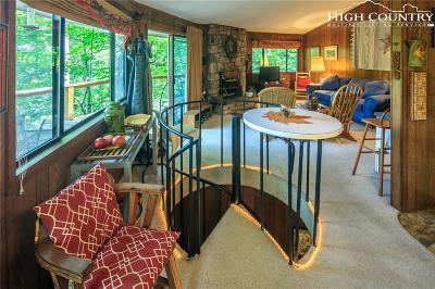 Sugar Mountain Single Family Home For Sale: 271 Forest Run