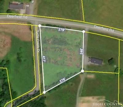 Avery County, Watauga County Residential Lots & Land For Sale: Tbd Deerfield Road