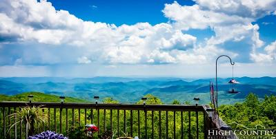 Blowing Rock Single Family Home For Sale: 128 Sapphire Lane