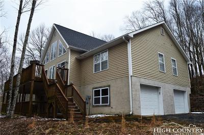 Beech Mountain Single Family Home For Sale: 209 Overbrook Trail