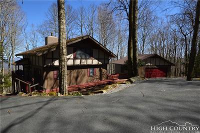 Beech Mountain Single Family Home For Sale: 120 Grassy Gap Loop + 2 Road
