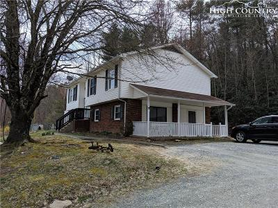 Deep Gap Multi Family Home For Sale: 191 Alex Wellborn Road