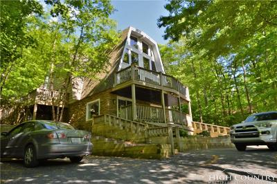 Beech Mountain Single Family Home For Sale: 206 Tamarack Road