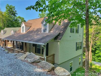 Beech Mountain Single Family Home For Sale: 121 Village Cluster Road