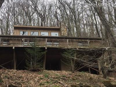 Alexander County, Burke County, Caldwell County, Ashe County, Avery County, Watauga County Single Family Home For Sale: 122 Beucus Lane