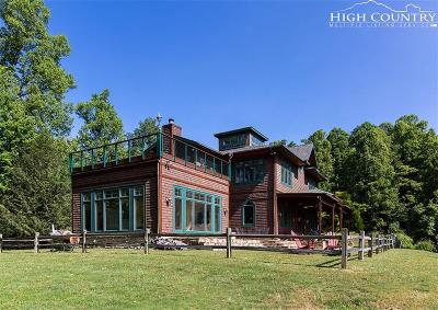 Deep Gap Single Family Home For Sale: 229 Freedom Road