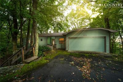 Beech Mountain Single Family Home For Sale: 496 Saint Andrews Road