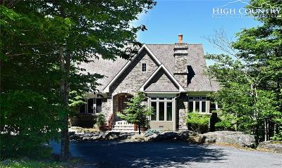 Beech Mountain Single Family Home For Sale: 330 N Pinnacle Ridge Road