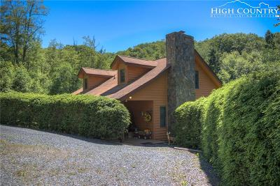 Blowing Rock Single Family Home For Sale: 776 Galax Circle Road