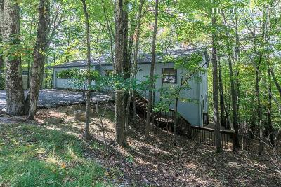 Beech Mountain Single Family Home For Sale: 502 Saint Andrews Road