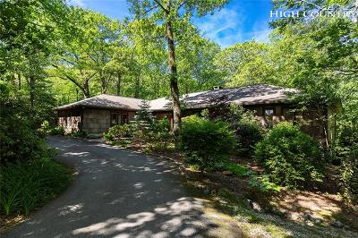 Blowing Rock Single Family Home For Sale: 1589 Green Hill Road