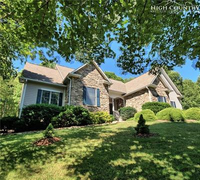 West Jefferson Single Family Home For Sale: 213 White Tail Trail