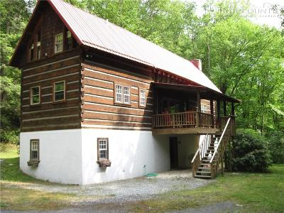 Newland Single Family Home For Sale: 51 Trice Fork Mtn. Road
