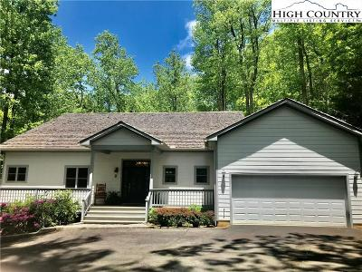 Boone NC Single Family Home For Sale: $625,000