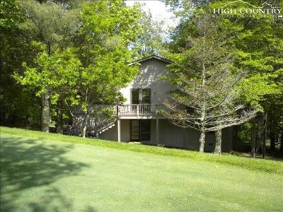 Beech Mountain Single Family Home For Sale: 111 Grassy Gap Loop Road