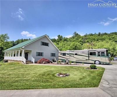 West Jefferson Single Family Home For Sale: 2701/Lot 18 Nettle Knob Road