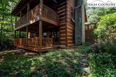 Watauga County Single Family Home For Sale: 156 Foxwood Lane