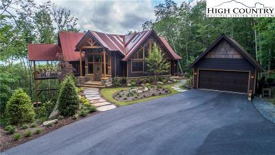 Banner Elk Single Family Home For Sale: 228 Lodge Woods Trail