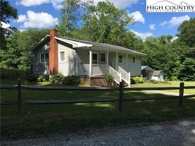 Boone Single Family Home For Sale: 1354 Soc Houck Road