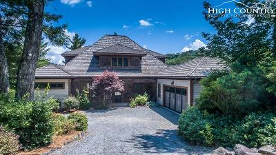 Blowing Rock Single Family Home For Sale: 478 Country Club Drive