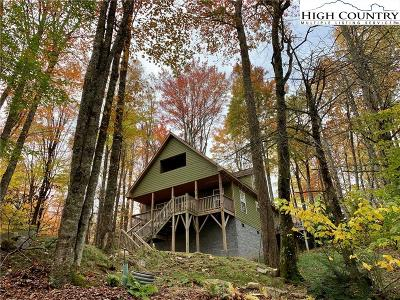 Beech Mountain Single Family Home For Sale: 227 Greenbriar Road