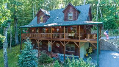 Banner Elk Single Family Home For Sale: 92 Cabin Cove Lane