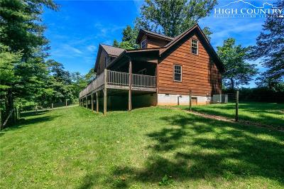 Todd Single Family Home For Sale: 3991 Big Hill Road