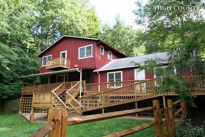 Banner Elk Single Family Home For Sale: 663 John Erwin Road